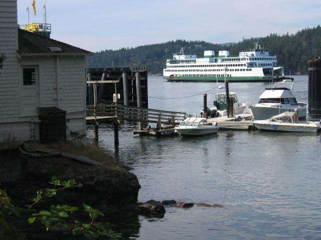 Shaw Island ferry landing