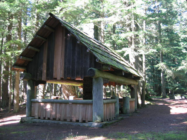 Cold Springs shelter, Orcas Island